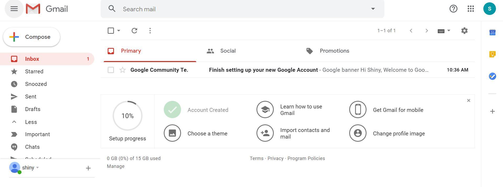 gmail built- ساخت اکانت جیمیل
